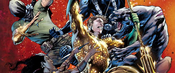 Avant-Première VO: Review Aquaman #8
