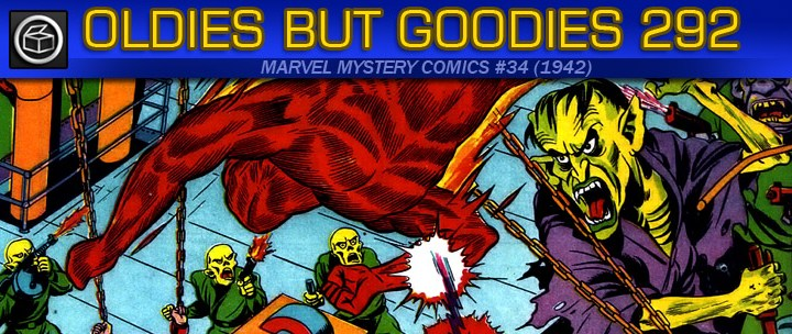 Oldies But Goodies: Marvel Mystery Comics #34 (1942)