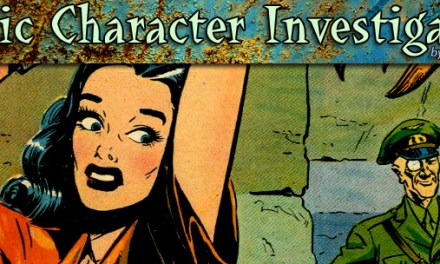 CCI: Comic Character Investigation #23