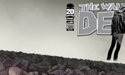 The Walking Dead #100, best selling Image book of the century