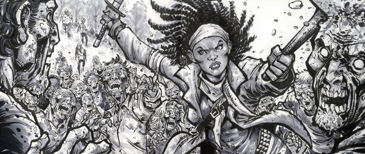 Hero Initiative Partners with The Walking Dead
