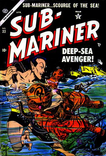 Sub-Mariner Comics #33 (Avril 1954)