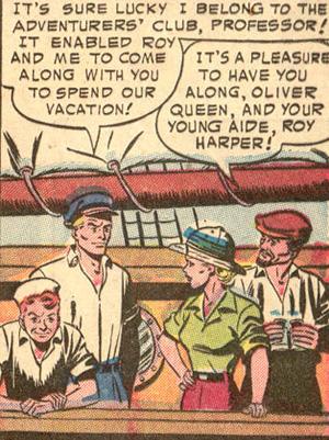 "Oliver Queen, un aventurier ""officiel"" ?"