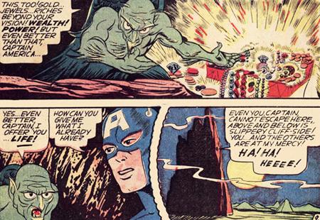 Vulture tente de corrompre Cap.