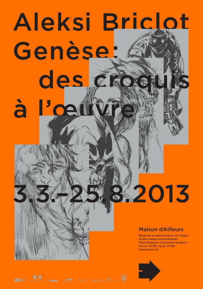 Exposition Aleksi Briclot @ La Maison d'Ailleurs