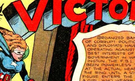 Oldies But Goodies: Captain Fearless #1 (Août 1941)