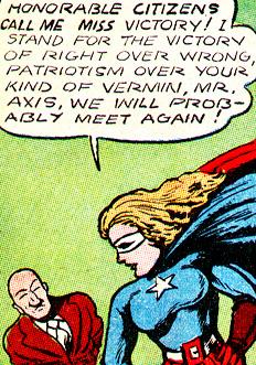 Miss Victory promet à Mister Axis qu'ils se retrouveront...