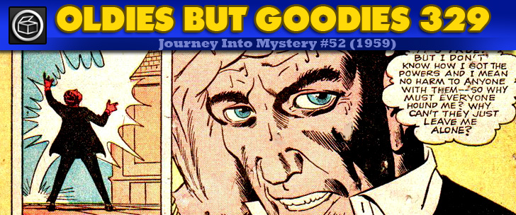 Oldies But Goodies: Journey Into Mystery #52 (Mai 1959)