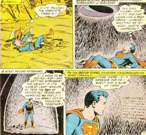 Superboy ne sait plus où il en est...