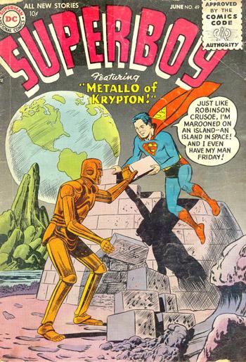 Oldies But Goodies: Superboy #49 (Juin 1956)