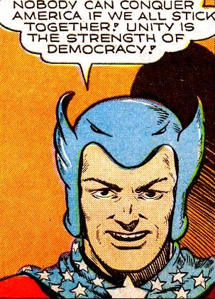 Super-American, avocat de la démocratie...