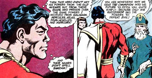 """Captain Marvel s'étonne que le mot magique de Champion ne puisse pas être """"Shazam"""""""