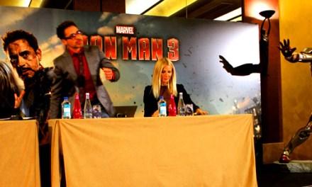 Conférence de presse Iron Man 3 (15 avril 2013) les photos