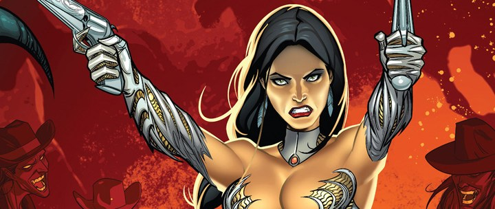 Avant-Première VO: Review Witchblade: Day of the Outlaws #1