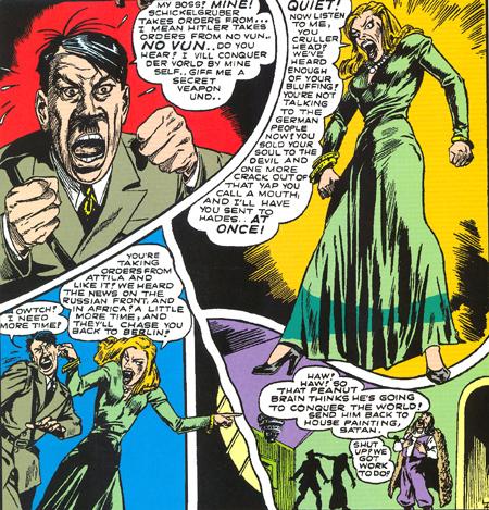 Hitler apprend qu'Attila le remplace...