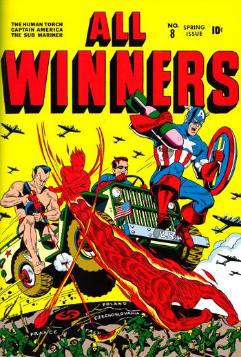 All-Winners Comics #8 (1943)