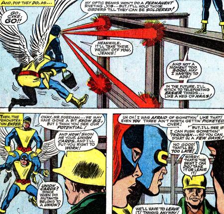 Les X-Men se font ouvriers...
