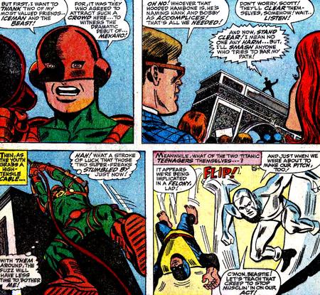 Mekano attaque... et fait passer les X-Men pour des complices...