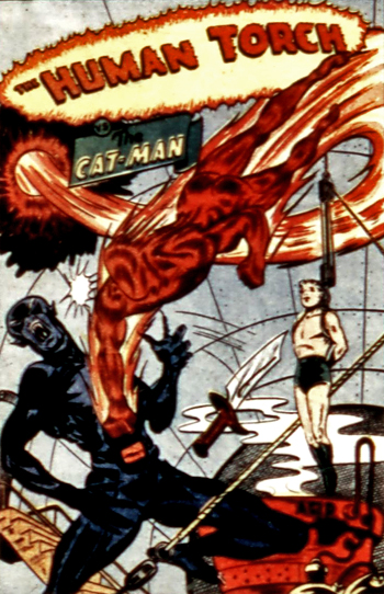 Le Catman de Marvel