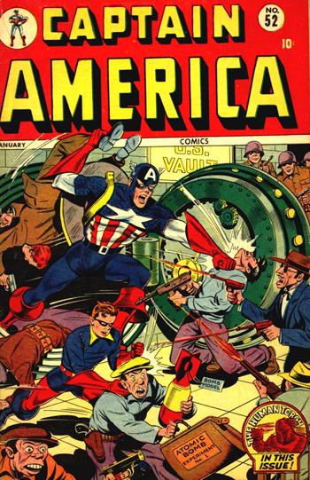 Captain America Comics #52 (Jan. 1946)
