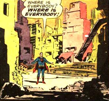 Metropolis en ruine...