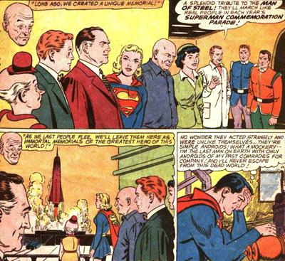 Les androides à l'image des amis de Superman...