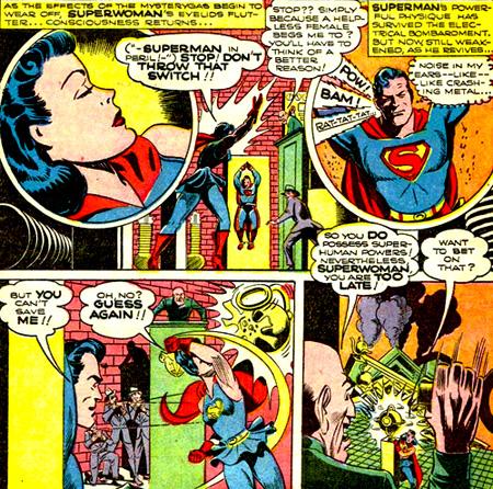 Superwoman sauve Superman...