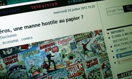 Comic Box sur Ecrans.fr