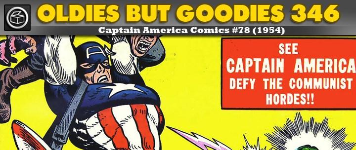 Oldies But Goodies: Captain America Comics #78 (Sept. 1954)