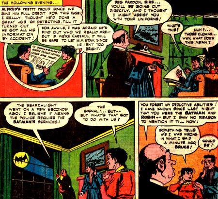 Alfred a tout découvert... et prend sa place dans la Bat-Famille
