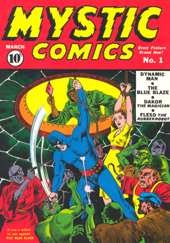 Oldies But Goodies: Mystic Comics #1 (Mars 1940)