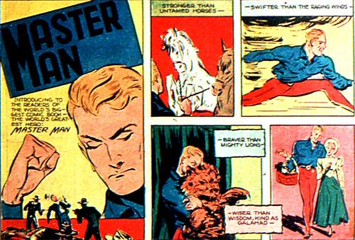 """La """"super"""" description de Master Man"""