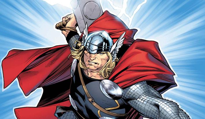Un été en Super-Héros sur France Info / Thor