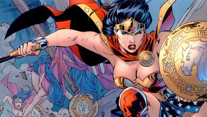 Un �t� en Super-H�ros sur France Info / Wonder Woman