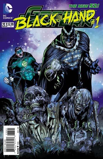 Green Lantern #23.3 Blackhand