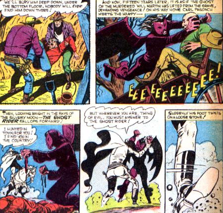 Le Ghost Rider n'est pas très habile pour sa première rencontre avec la Harpy