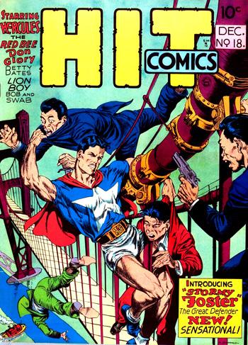 Hit Comics #18 (Déc. 1941)
