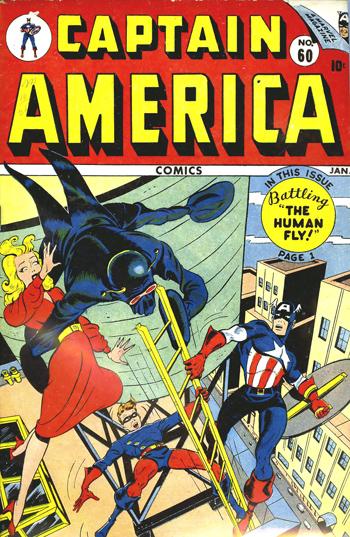 Captain America Comics #60 (Janvier 1947)