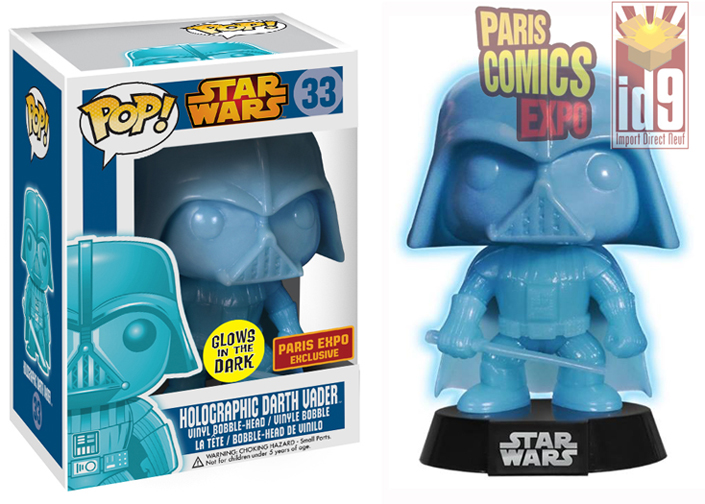 Figurine Darth Vader Pop Jedi Spirit exclusive à Paris Comics Expo