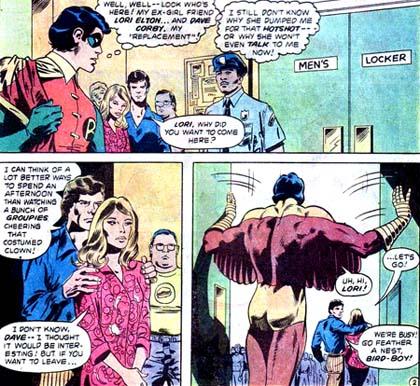 L'ex de Dick Grayson a un nouveau boyfriend plutôt crétin...