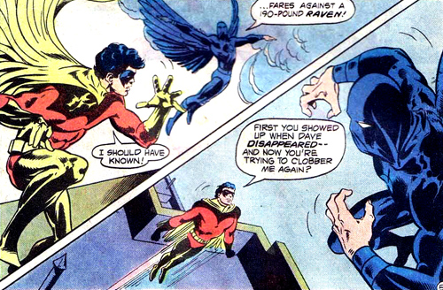 Robin contre Raven version 1978