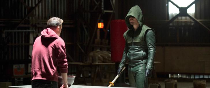 Arrow S02E12