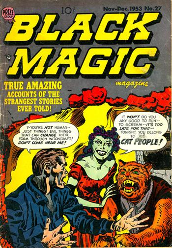 Black Magic Magazine #27 (Nov. 1953)