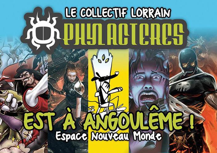Phylactères à Angoulème
