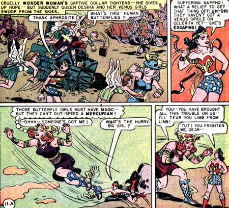 Wonder Woman enfin libre !