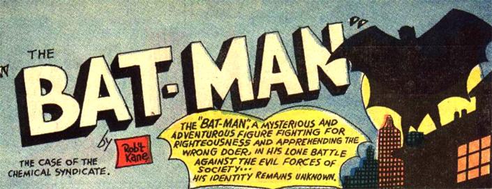 L'image d'ouverture de Bat-Man