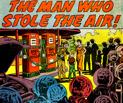 """The Man Who Stole The Air !"""