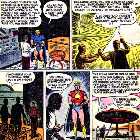 Bob Grayson devient Marvel Boy