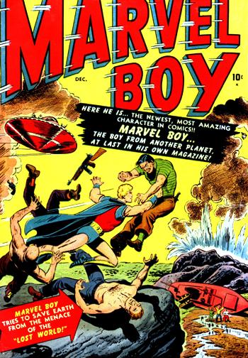 Marvel Boy #1 (Dec. 1950)