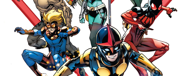 Avant-Première VO: Review New Warriors #1